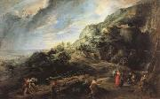 Peter Paul Rubens Ulysses on the Island of the Phaeacians oil painting reproduction